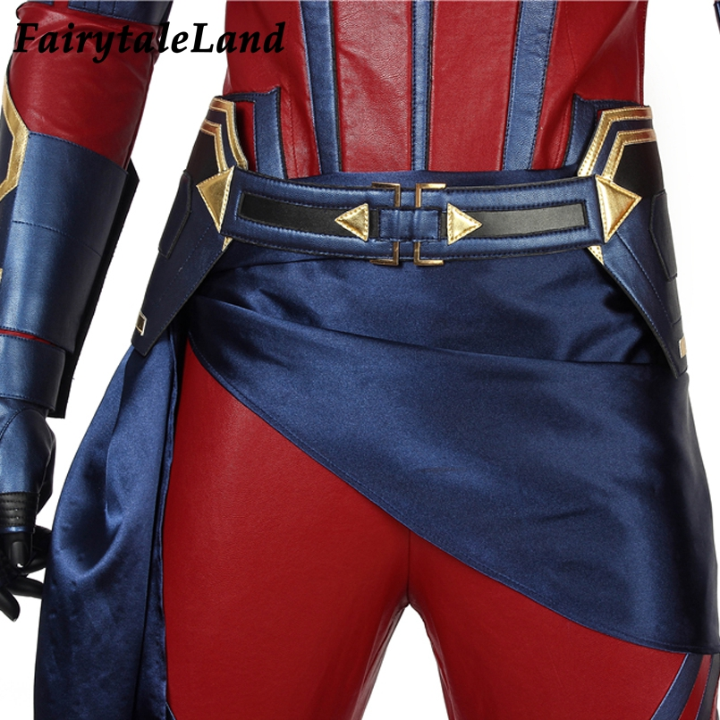 Endgame leather Jumpsuit Cosplay 11