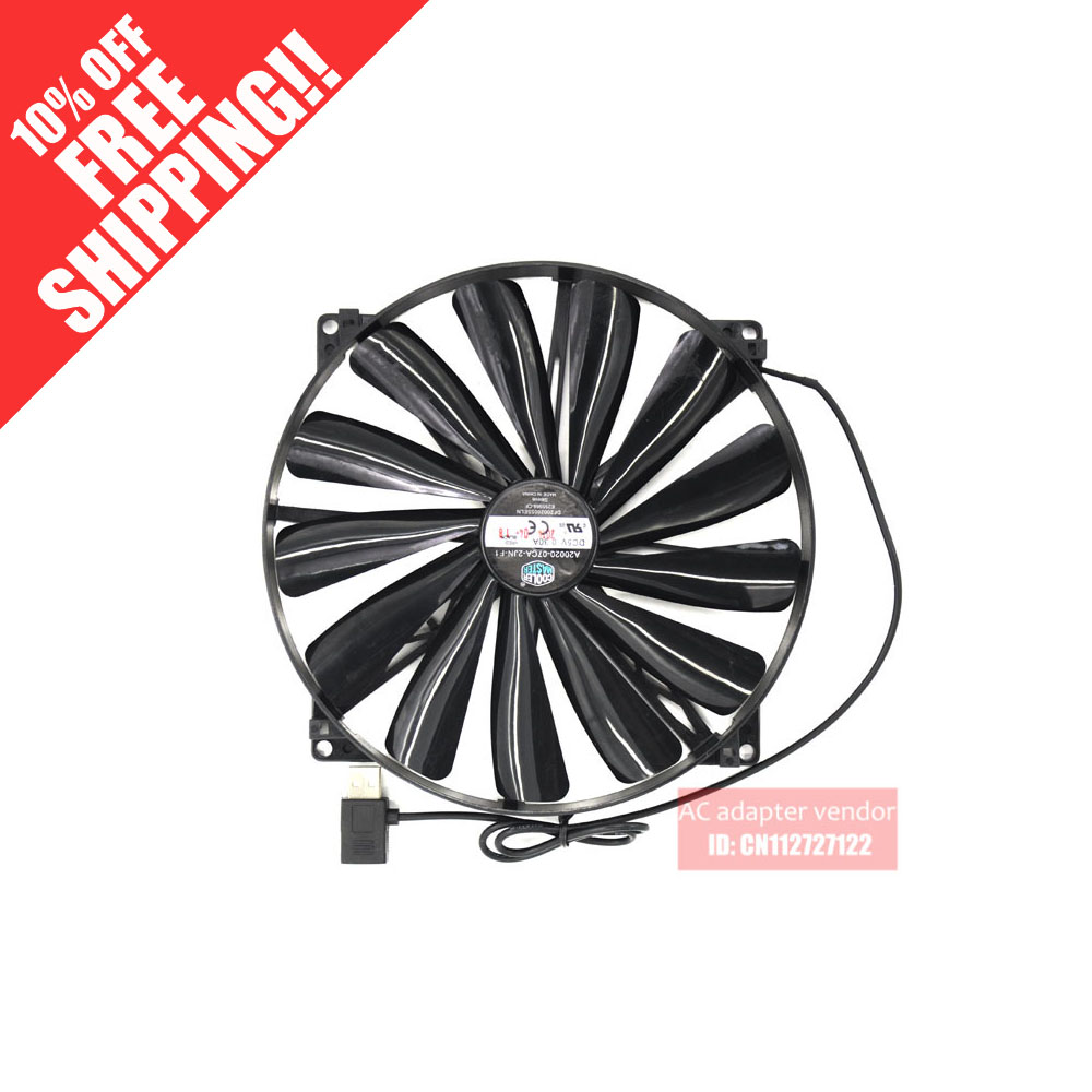 new Cooler Master A20020-07CA-2JN-F1 20cm cooling fan аксессуар чехол lenovo vibe z2 smarcover black