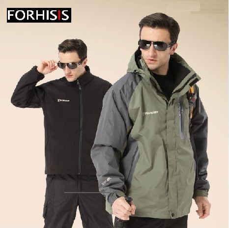 2013 Military Style Jacket For Men Camping Jackets Outdoor Vest Camouflage Waterproof Hiking Clothes Ski Suit S124 In From