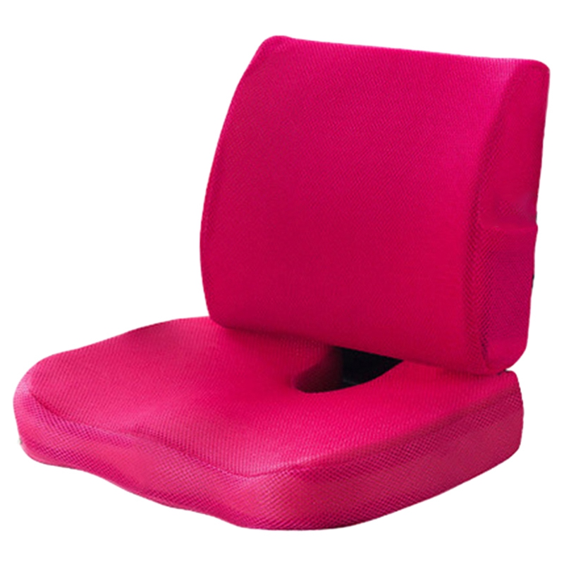Car Seat Cushion Orthopedic Memory Foam Chair Massage Cushion Back Cushion Pad Office Nap Pad