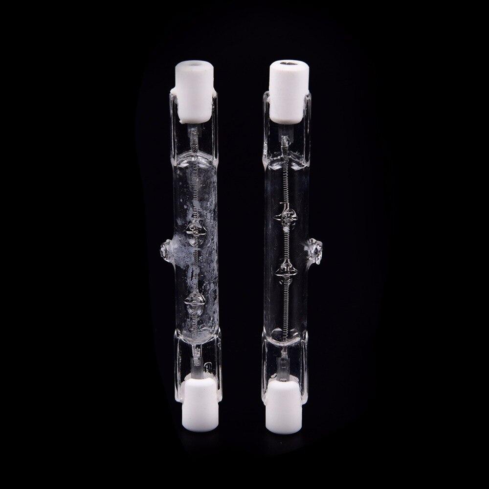 78mm R7s Halogen Floodlight Bulb Halogen Bulb R7s Bulbs 150W 2000LM Halogen Lamp Tungsten Filament Double Ended Linear