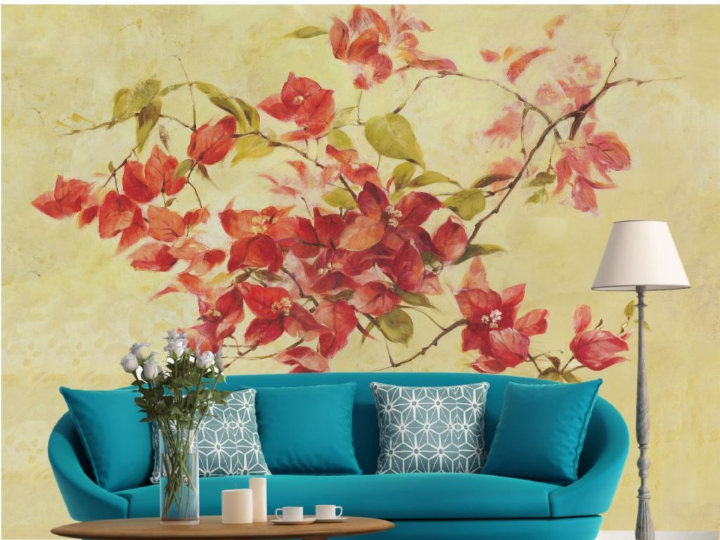 Fantastic Wall Decoration With Colour Paper Component - The Wall Art ...
