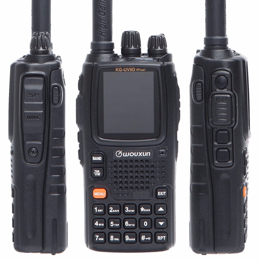 Wouxun KG-UV9D Plus Multi-Band Multi-functional DTMF 7 bands Ham Portable Set Two Way Raido Air Band Walkie Talkie Two way Radio