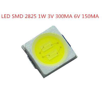 205>> SMD <font><b>LED</b></font> <font><b>2835</b></font> Chip 1W 300MA 3V 6V 9V White warm cold 120LM Ultra Bright one Watt <font><b>LED</b></font> Light smd Emitting Diode Lamp image