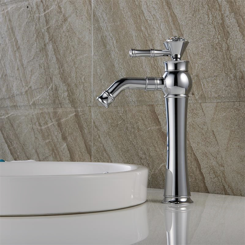 bathroom sink faucets separate hot and cold hdm bathroom faucet chrome finished basin mixer single 25936