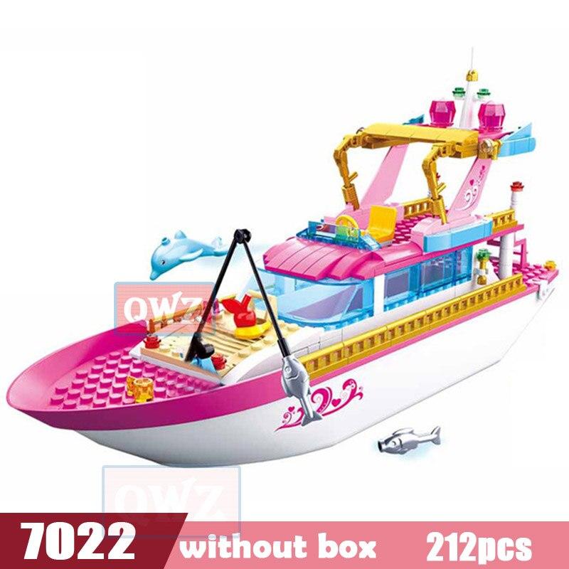 Legoes город девушка друзья большой сад вилла модель строительные блоки кирпич техника Playmobil игрушки для детей Подарки - Цвет: 0722  without box