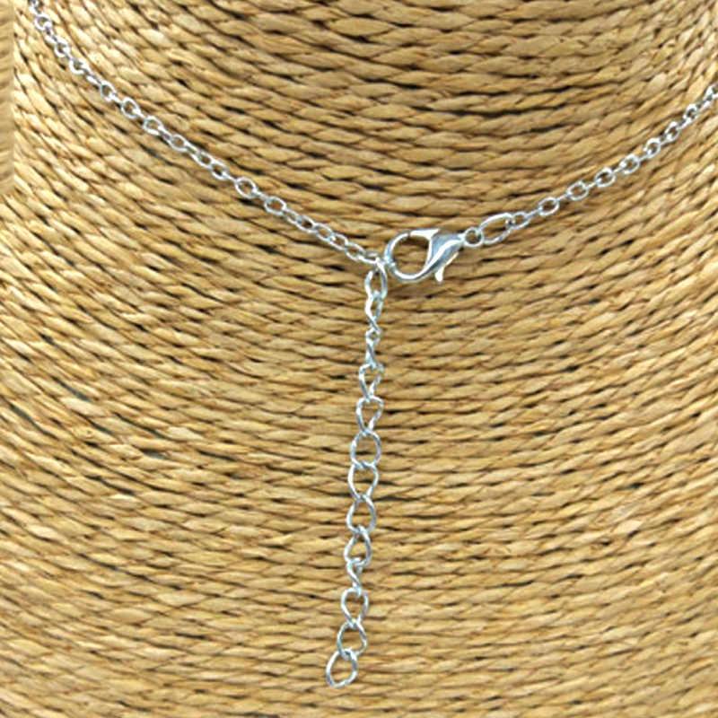 ペンダントシルバーゴールドチェーンスターの魅力のジュエリーネックレスシンプルな三日月女性 1pc ホットメッキチャーミング Jwelry ギフト