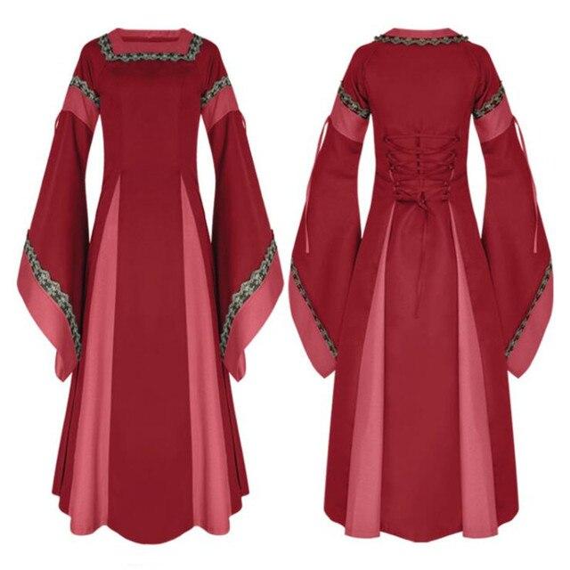 Косплей средневековое платье в ассортименте 2