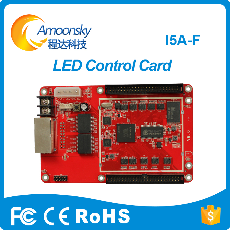 Colorlight I5a-f Receiving Card Max Support 256*256 Full Color Led Display Controller Replace Colorlight 5s T9 5a-f A8