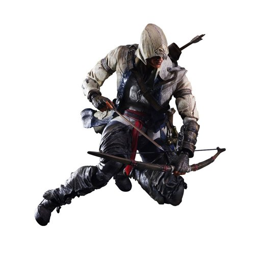 Reveals assassin creed connor and edward play arts kai figures J01 майка print bar assassin s creed ezio collection