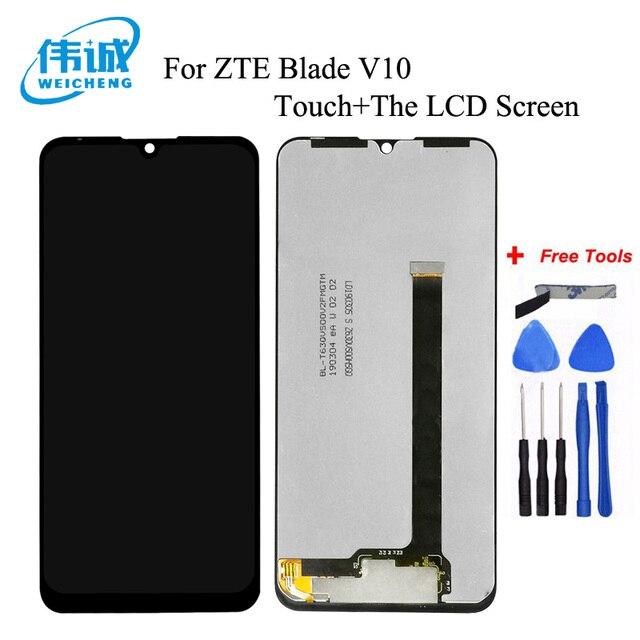 Pour ZTE Blade V10 / Blade V10 Vita écran LCD avec écran tactile capteur de verre numériseur avec cadre avec Kits