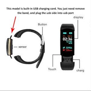 Image 3 - HORUG Bracelet intelligent de remise en forme Bracelet de Fitness Tracker Bracelet intelligent activité pression artérielle podomètre Sport moniteur de fréquence cardiaque