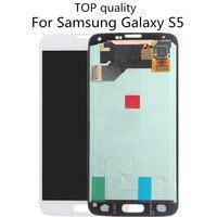 TOP Quality S5 LCD Display For SAMSUNG GALAXY S5 I9600 SM G900 G900F G900R G900F G900M