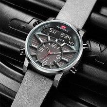 Erkek saatler Top marka lüks Analog dijital saat erkekler ordu askeri izle erkekler için büyük taktik spor Relogio Masculino saatler