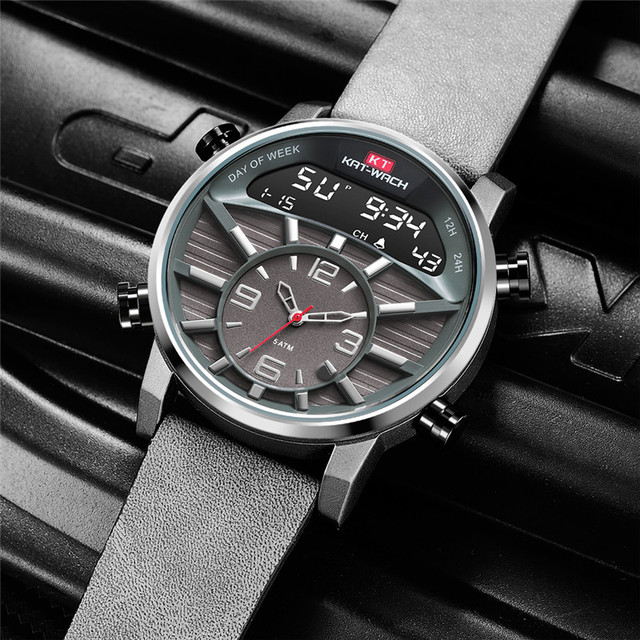Mens Watches Top Brand Luxury Analog Digital Watch Men Army Military Watch for Men Big Tactical Sport Relogio Masculino Whatches