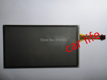 1 piece Good quality 8 inch 8 pins Black glass touch Screen panel Digitizer Lens for Highlander car DVD player gps navigation