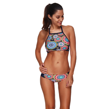 LS1390Double Push Up Bikini Leaf Print Large size swimwear Separate Indoor Swimsuit  Secret   Beach Swimsuit Seafolly