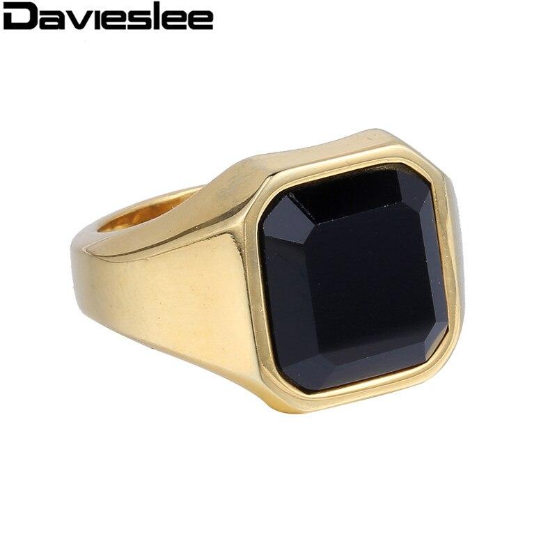 get cheap black signet ring aliexpress