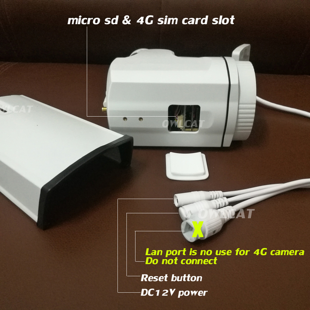 "OwlCat 3516C+1/2.8"" SONY323 1080P 960P 5X Zoom Auto Focus PTZ HD Bullet IP Camera wireless 4G SIM Card IP Camera Wifi Outdoor"
