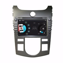 HD 2 din 8″ Car DVD Player for Kia CERATO /FORTE 2008-2012 (AT) With Navigation Bluetooth IPOD Radio /RDS TV SWC AUX IN USB