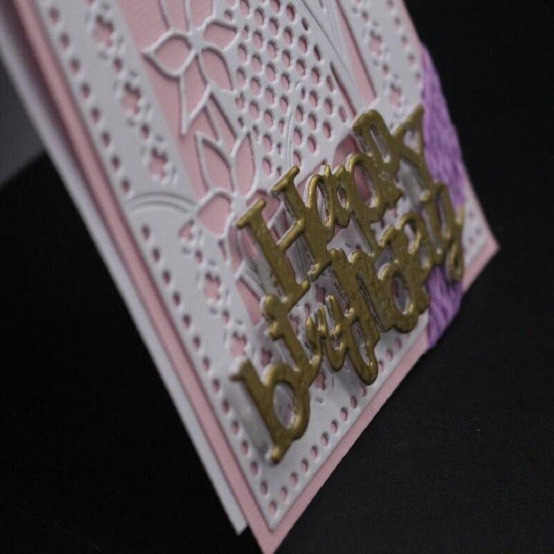 FeLicearts Metal Cutting Dies flower Frame For DIY Scrapbooking Photo Album Embossing Paper Decorative Crafts Die Cut in Cutting Dies from Home Garden