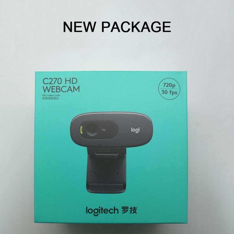 Logitech C270 HD Vid 720P վեբ-խցիկ Micphone USB 2.0 - Համակարգչային արտաքին սարքեր - Լուսանկար 6