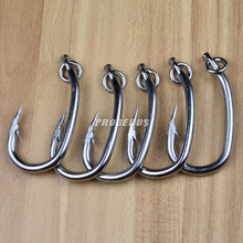 20pc PROBEROS Brand Saltwater Fishing Hook Tuna Hook 10/0#-16/0# Model stainless steel fishhook Made in Taiwan