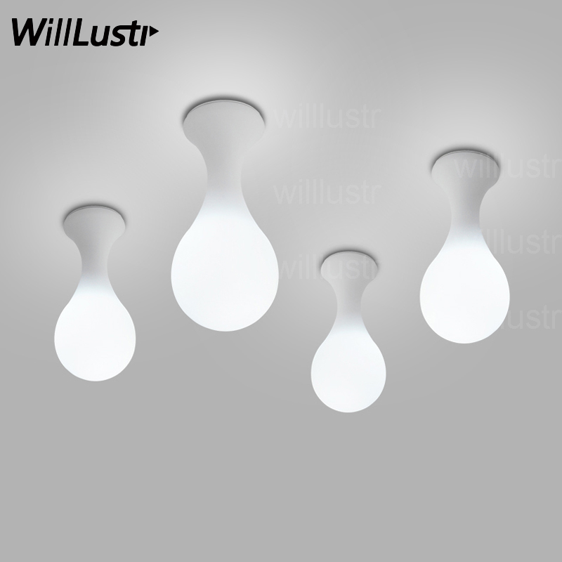 Next Drop ceiling lamp Constantin Wortmann Design home collection Light glass shade lighting Liquid drop bowling foyer doorway white glass ceiling lamp modern design frosted glass shade light home collection lighting bedroom foyer doorway cloud lights