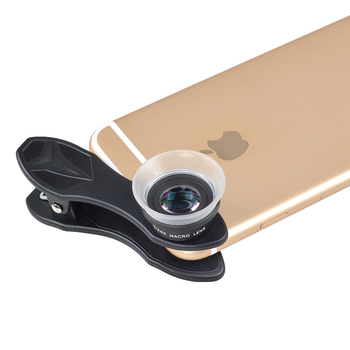 APEXEL Phone Lens 2 In 1 Clip-On 12 X Macro + 24 X Super Macro Lens kit For Iphone 7/6s / 6s Plus ios android smartphones 24XM 1