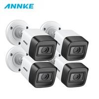 ANNKE 4 шт 4 K HD IP67 всепогодный набор камер Крытый Открытый аналоговый CCT безопасности Камера