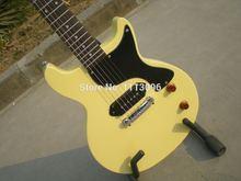 Envío libre de la guitarra eléctrica / lp studio / slash / color amarillo estándar guitarra eléctrica / guitarra in china