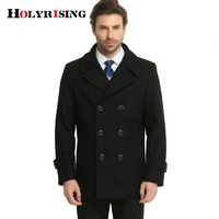 mens cashmere coat winter jacket men manteau homme Male medium long men wool coatovercoat leisure wear overcoat