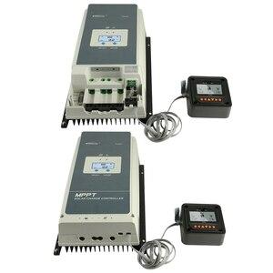 Image 5 - EPever MPPT 100A 12V 24V 36V 48V Solar Laderegler Hintergrundbeleuchtung LCD Max 150V PV eingang Gemeinsame Negative Erdung Tracer10415AN
