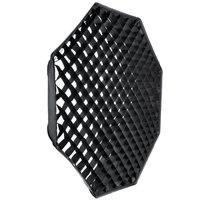 Godox octagon 120 cm griglia a nido d'ape softbox bowens mount per studio strobe flash per la fotografia da studio forniture luce riflessa