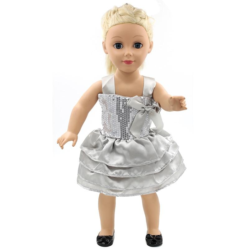 Best Birthday Gift American Girl Dolls Clothing Elegant Silver ...
