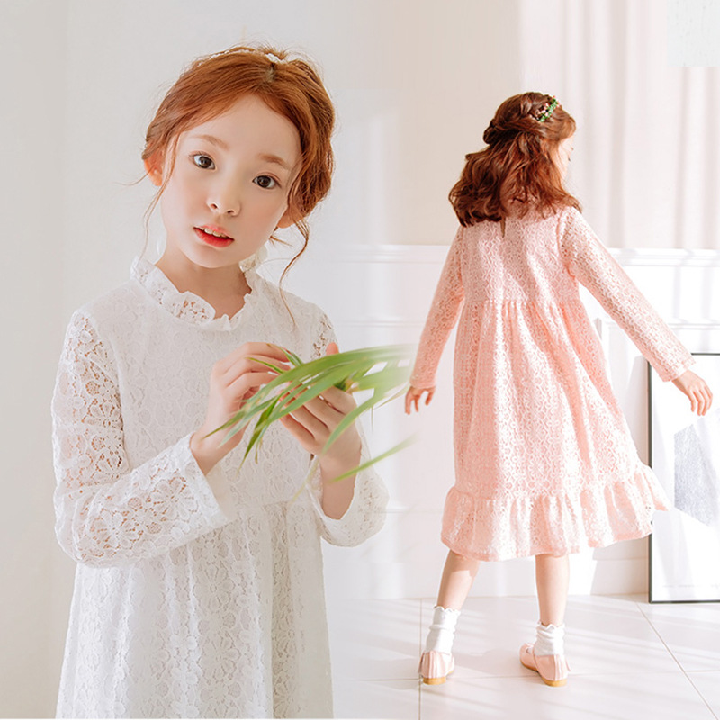 lace princess girls dresses knee length autumn kids clothes party teenage baby girl dress long sleeve white clothing for girls us standard ewelink remote control switch 3 gang 1 way rf433 smart wall switch wireless remote control touch light switch