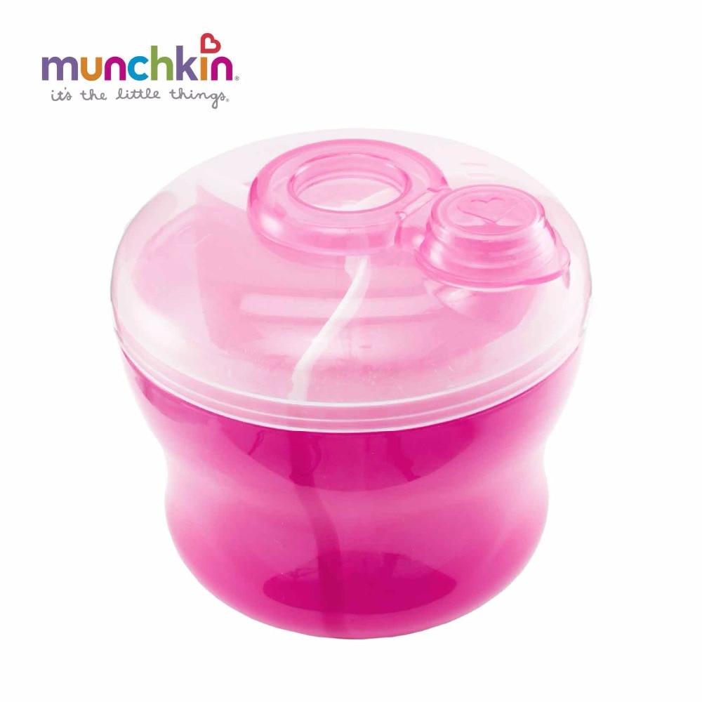 Munchkin leche Polvos de maquillaje fórmula dispensador colores al azar envía bebé leche de alta calidad Polvos de maquillaje dispensador fórmula