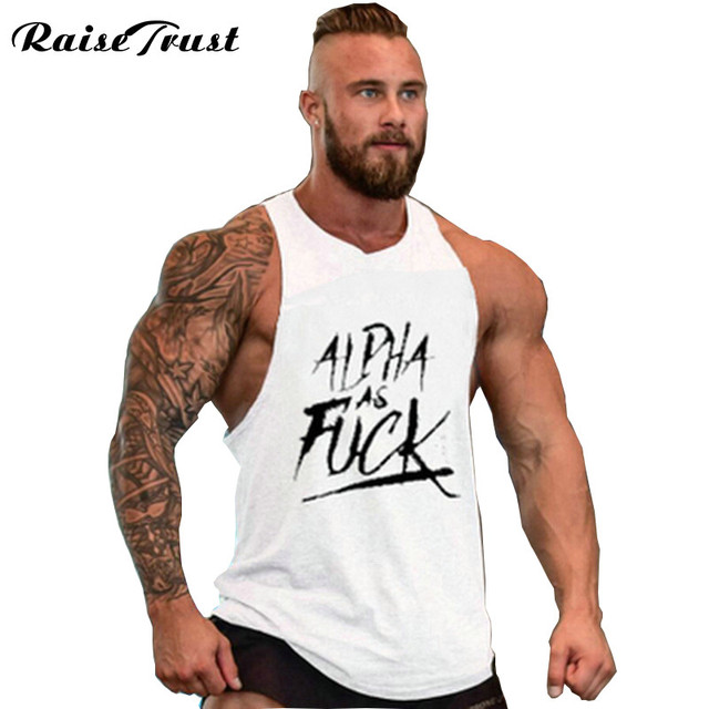 2019 colete Clothing Men Bodybuilding Tank Top Word Pattern Men Fitness Sleeveless Shirts casual Muscle Tops undershirt gyms