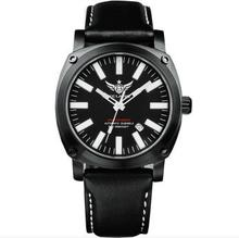 YELANG V3.T H3 self luminous super bright mens leather strap anti glare sapphire mirror waterproof military diving quartz watch