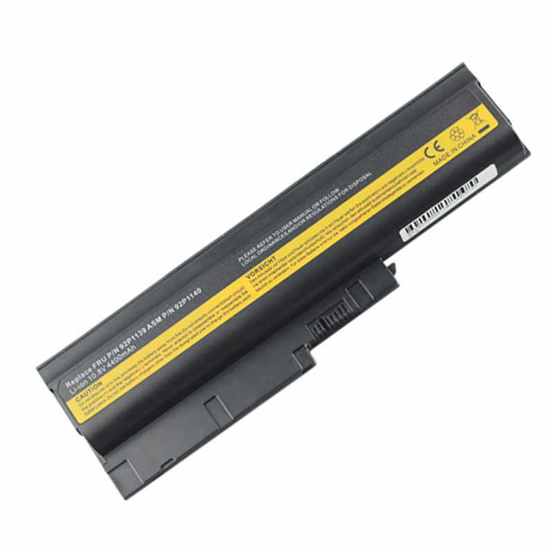 6cells Laptop Battery For Lenovo ibm ThinkPad R500 R60 R60e R61 R61e R61i T60 T60p T61 T61P Z60m Z61e series