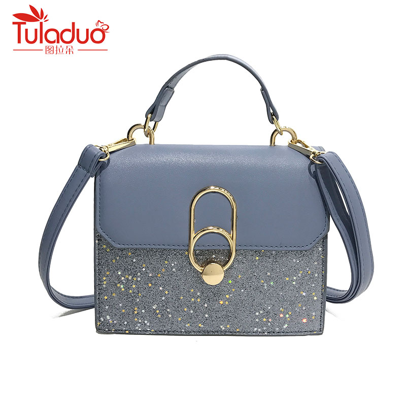 Sequined Women Hot Shoulder Messenger Bags Pochette Girl Designer Tote Bag Small Handbag Women Crossbody Shoulder Bags Lady women handbag shoulder bag messenger bag casual colorful canvas crossbody bags for girl student waterproof nylon laptop tote