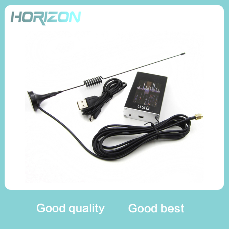 Ham Radio Receiver 100KHz-1.7GHz full Band UV HF RTL-SDR USB Tuner Receiver R820T+8232 Radio Software Defined Radio