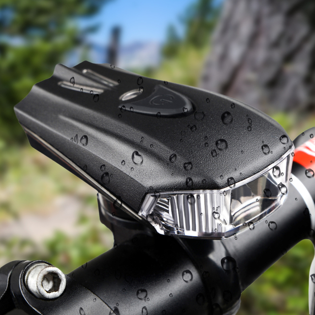 Велосипедов Передняя свет велосипеда свет USB 200 Люмен 4 Режима Водонепроницаемый Интеллектуальные велоспорт Датчик света Велосипед света Аксессуары