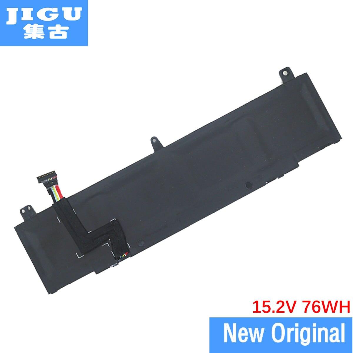 JIGU Original Tablet Battery 0V9XD7 TDW5P For Dell For Alienware 13 R3 15.2V 76WH jigu 15 2v 68wh original laptop battery 0546ff 546ff 44t2r for dell for alienware 15 r3