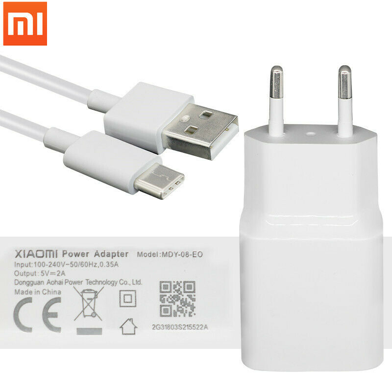 Mobile Phone Accessories Mobile Phone Chargers Original Xiaomi Charger 5v 2a Adapter Micro Usb Type C Cable For Mi 9 8 Se 6 A1 5 5s Plus Mix 2 Note 2 3 Redmi 4 4a 4x 5 5 Plus