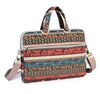 High Quality Canvas Waterproof Laptop Messenger Bag 12 13 14 15 Inch Notebook Shoulder Bag For
