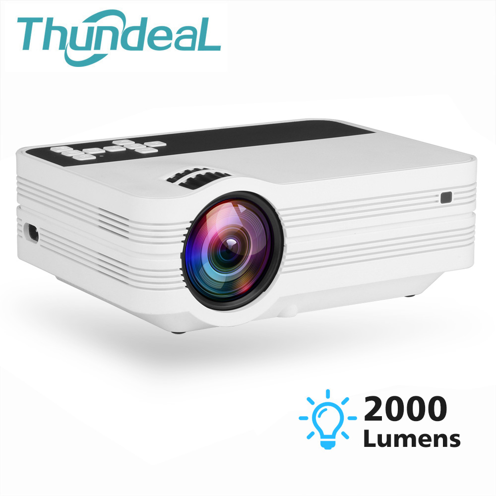Thundeal Wifi Projector Digital Outdoor Android Portable Video-Beamer Cheap UB10 USB