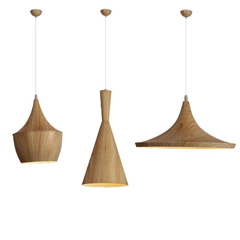 3pcs/Set Black/White/Gold/Red/Wood Pendant lamp England Beat Musical Instrument ABC Hanging Pendant Light Lamp Dining Room Light