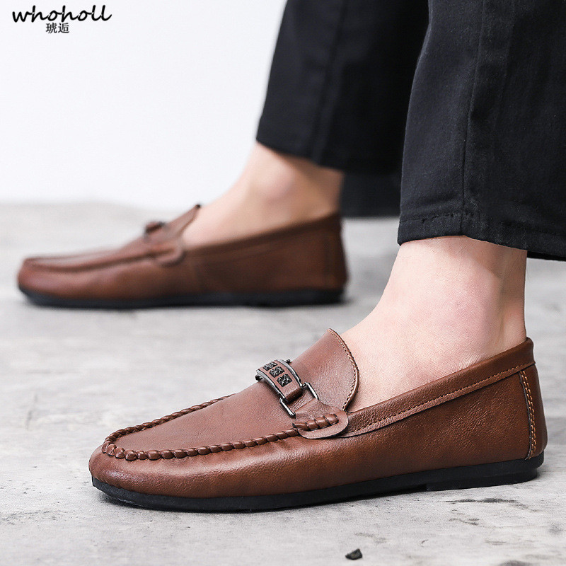 Summer Breathable Men Driving Shoes Genuine Leather Mens Loafers White Black Italian loafers Luxury Designer Moccasins Men in Men 39 s Casual Shoes from Shoes