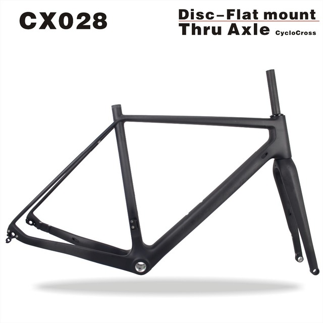 2019 MIRACLE Full Carbon Cyclocross Frame Size 49/52/54/56/58cm Thru ...